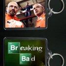 BREAKING BAD keychain / keyring Aaron Paul Bryan Cranston JESSE & WALTER WHITE 2