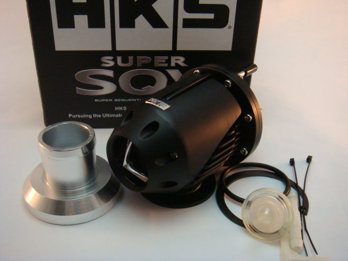 HKS Super BOV Blow Off Valve SQV SSQV Universal Version 2 Black Limited Edition