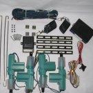 Car Alarm Remote Start Control & Full Set Central Locking Kit 4 Doors