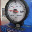 APEXI EL2 MECHANICAL BOOST METER GAUGE kpa WHITE