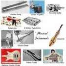 Vintage Musical Instrument Plans Guitar, Fiddle, Dulcimer, Bass & more