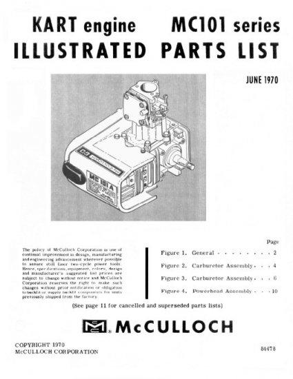 Mcculloch Mac 120 service manual