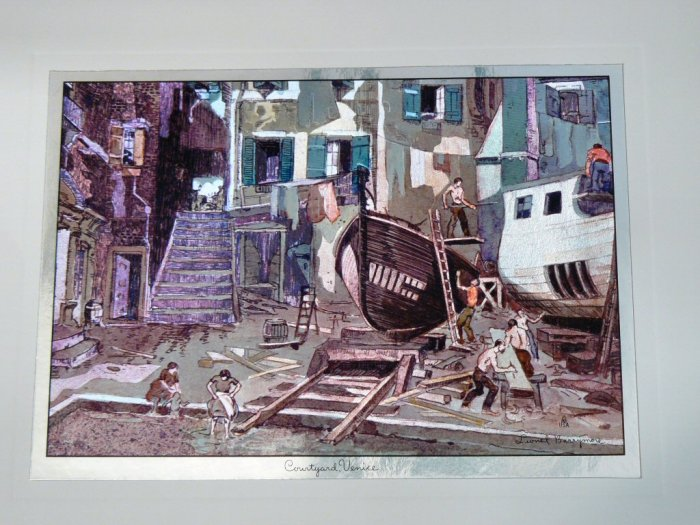 SET of 10 Lionel Barrymore Foil Etching Lithograph Prints