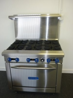 NEW Royal Range 24in Gas Radiant Broiler Charbroiler Grille Grille