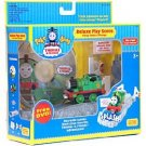 Thomas &Friends Take Along Percy Deluxe Play Scene & DVD