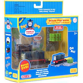 Deluxe Diesel DVD Playscene from Thomas and Friends Take Along