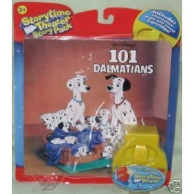 Storytime Theater Cartridge Book 101 Dalmation