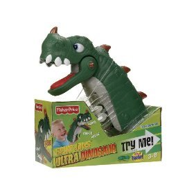 Fisher-Price Spike Jaws the Ultra Dinosaur