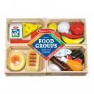 Melissa & Doug Food Groups wooden play food