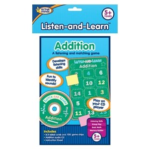 Listen and Learn Addition Match Game by Active Minds