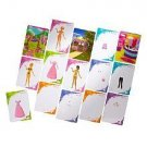 Barbie idesign Fashion Cards - Princess Style