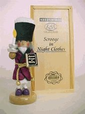 New Steinbach Mini Scrooge German Nutcracker VERY LE - Perfect condition