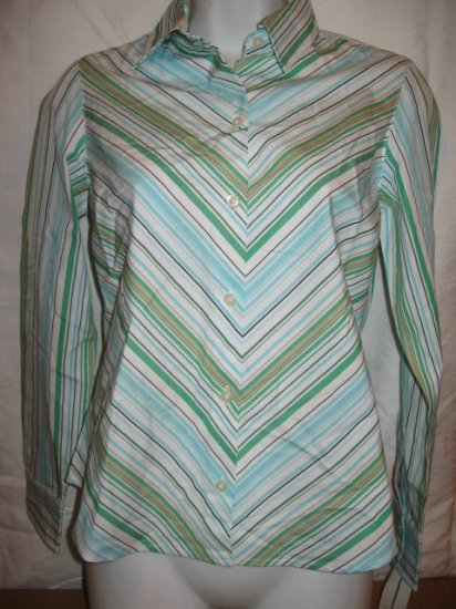 Women's striped shirt, CHARTER CLUB, size 2P