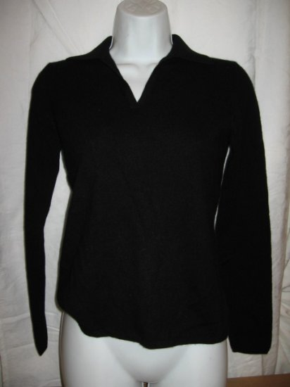 New Women's black cashmere sweater from CHARTER CLUB, size PP