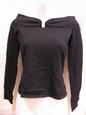 Brand New black Women's Pullover from I.N.C., size PS