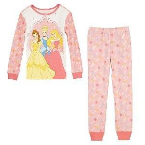 NEW Disney Store Princess PJ Pals Pajamas size 10