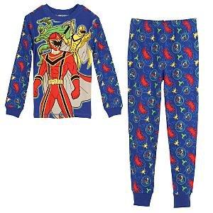 NEW Disney Store ''Power Rangers Mystic Force'' PJ Pals Pajamas size 10