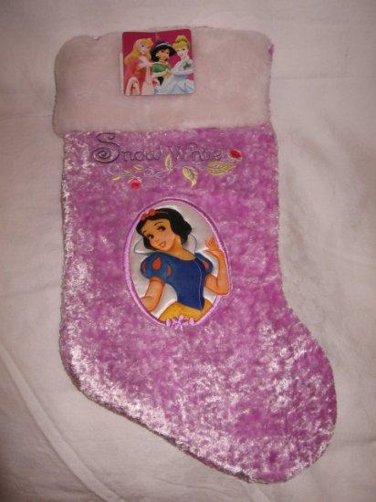 Disney Christmas Stocking Princess SNOW WHITE -- NEW with Tag