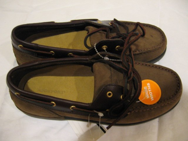 NEW Boy's Rockport Shoes, Size 6 , Wide