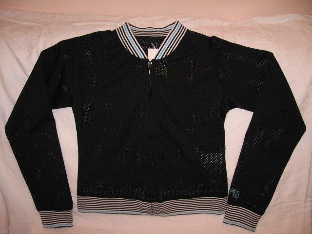 NEW ZOO YORK Girl's Ghetto Luxury Zip Up Long Sleeve Jacket, Size XL