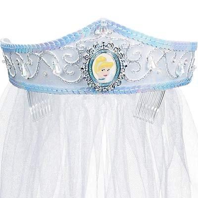 NEW Disney Cinderella Deluxe Wedding Crown with Veil