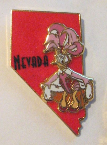 Disney Pins : Nevada/Daisy Pin (State Character Pins )
