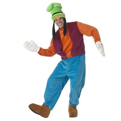New Disney Goofy  Costume for Grown-Ups, Size L