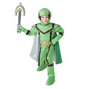 New Disney Green Mystic Ranger Costume for Boys, Size M  - Free Shipping on this item!
