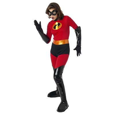 New Disney Mrs. Incredible Costume for Women, Size S  - Free Shipping on this item!