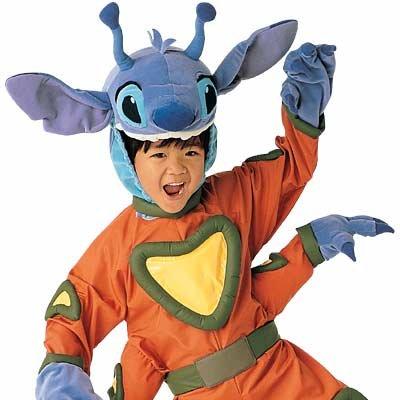 New Disney Stitch Alien Costume for Boys, Size XS