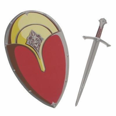 New Disney Edmund Pevensie Sword & Shield Set - Free shipping!