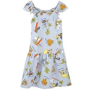 New Disney Mickey & Friends Waikiki Dress for Girls, size L - Free Shipping