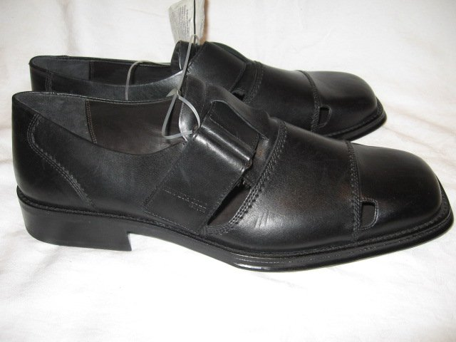 $160 New Kenneth COLE Men's Black Shoes, size 15 - Free shipping