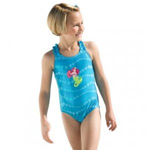 New Disney Ariel Hologram Swimsuit , size 4T - Free shipping!