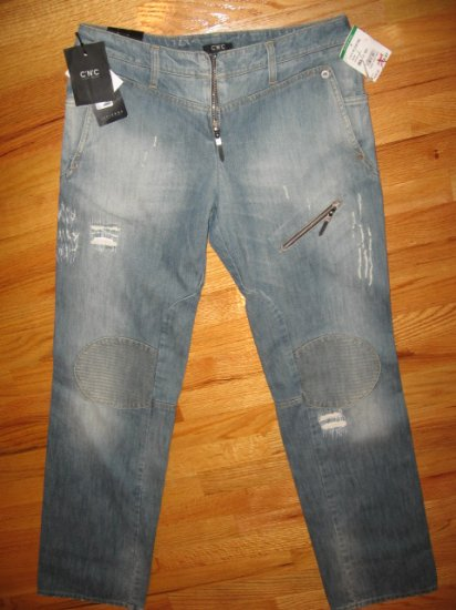 New C'N'C Costume National Mens Blue Jeans, size 31-45 , MSRP $410