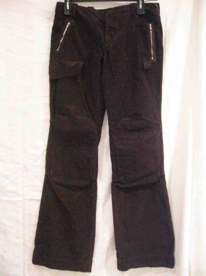 New A.M.M. Womens Velvet Cord Casual  Pants, size 42
