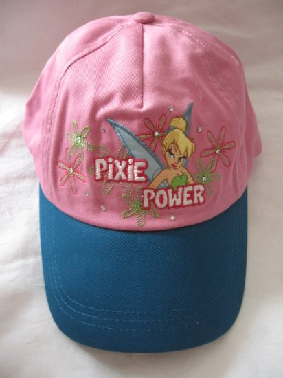 New Disney Store Cotton CAP - Tinkerbell Tinker Bell  for 8-10 year old girl