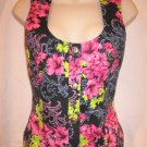 $440 New NWT VERSACE CLASSIC Flower Women's Vest size Small