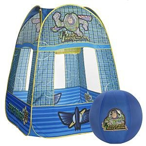 New Disney Buzz Lightyear Slammin' Hoops Tent with UPS 2nd day shipping
