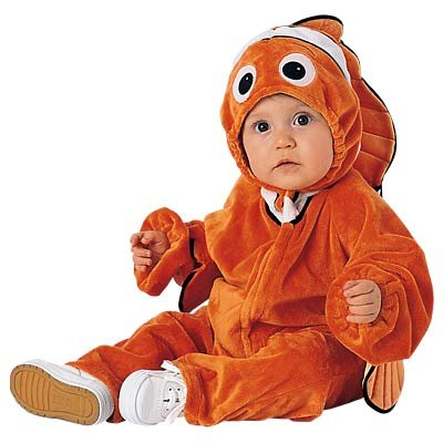 New Disney Nemo 2-Pc. Costume for Infants, Size 12 M (12 -18 months)  - Free Shipping on this item!