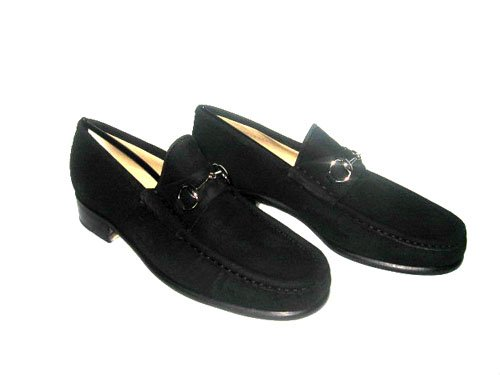 $495 New Authentic GUCCI Women Classic  Loafers Horsebit Shoes size 7.5  7 1/2 B - FREE SHIPPING