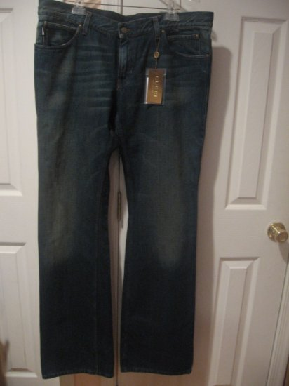 New with TAG Authentic GUCCI MEN JEANS Collection 2008 size 40 / 56 - Free Shipping on this item!