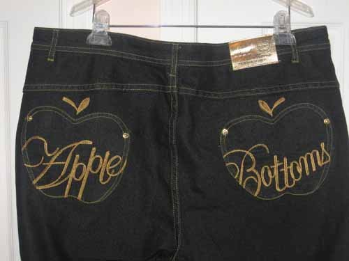 New with tags APPLE BOTTOM  PLUS women's JEANS size 21/22