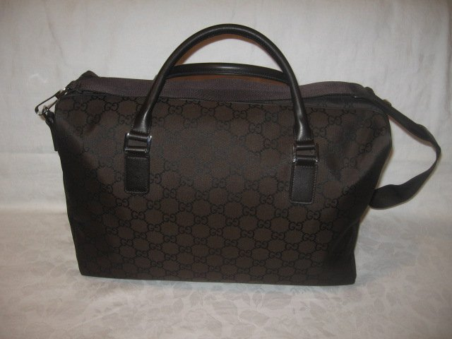 NEW Authentic GUCCI  LOGO TRAVEL LUGGAGE CARRY ON BAG
