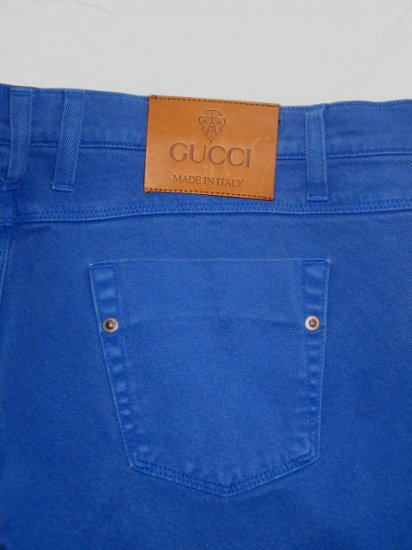 $550 NEW with tags Authentic GUCCI MEN JEANS SUPER SKINNY size 56 / 40 - Free Shipping