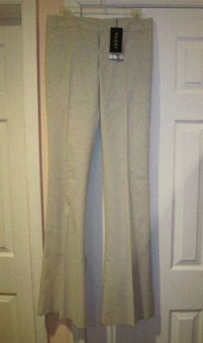 $695 New with TAG Authentic GUCCI WOMEN PANTS sz 44 ITALY- FREE SHIPPING.