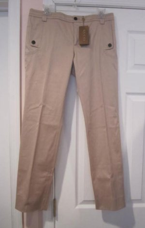 New with TAG Authentic GUCCI WOMEN PANTS CAPRIS sz 44 ITALY- FREE SHIPPING.