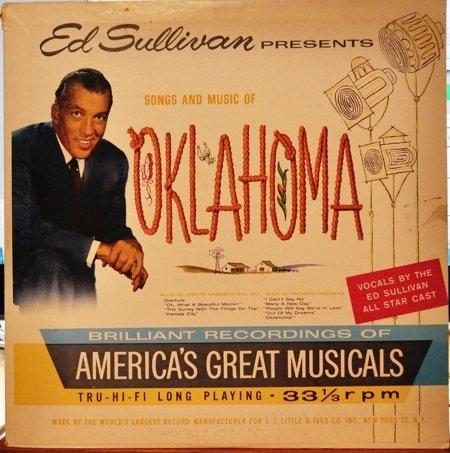"""Ed Sullivan Presents Oklahoma [1959 LP vinyl Record] [Vinyl] Ed Sullivan"