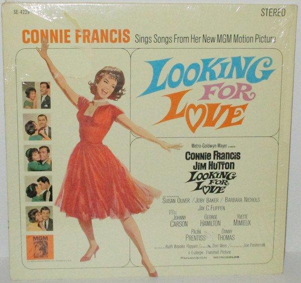 """Looking For Love [Original recording] [Vinyl] Connie Francis"