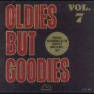 """""""Oldies But Goodies Vol. 7 [Vinyl] Various Artists"""